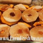 Butternut squash & apple