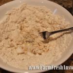 flour, water, shortening